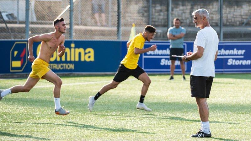 Daniele Raffaele est le nouveau président du FC La Chaux-de-Fonds