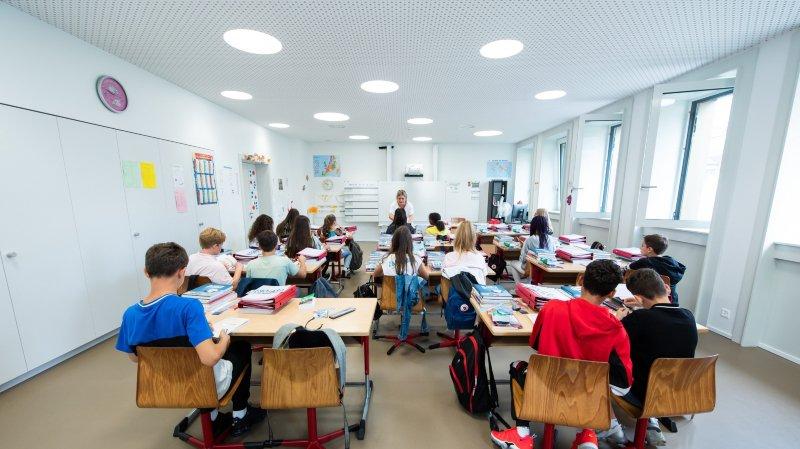 Neuchâtel: les élèves des Terreaux ont investi leur nouveau collège