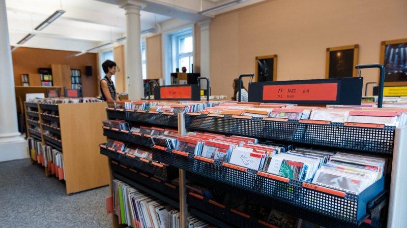 La Chaux-de-Fonds: la Bibliothèque de la Ville fête 40 ans d'images et de sons