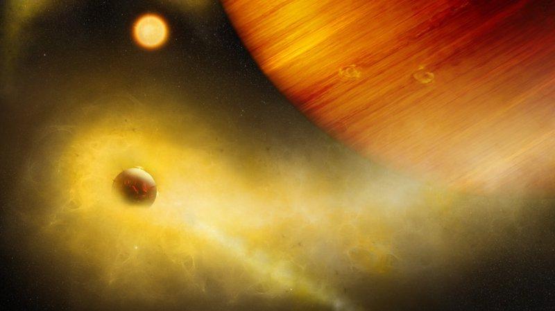 Cette planète de lave est une version extrême de la lune de Jupiter Io, le corps céleste le plus volcaniquement actif de notre système solaire.