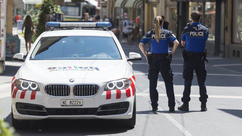 La police conseille d'éviter le centre-ville