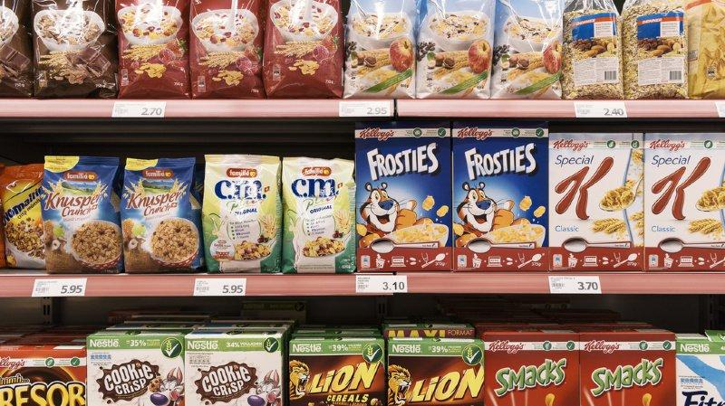 D'ici 2024, les teneurs en sucres baisseront de 10% dans les yoghourts et de 15% dans les céréales. (illustration)