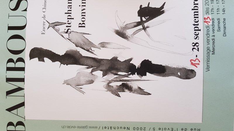 """Exposition """"BAMBOUS"""" Encre de Chine"""