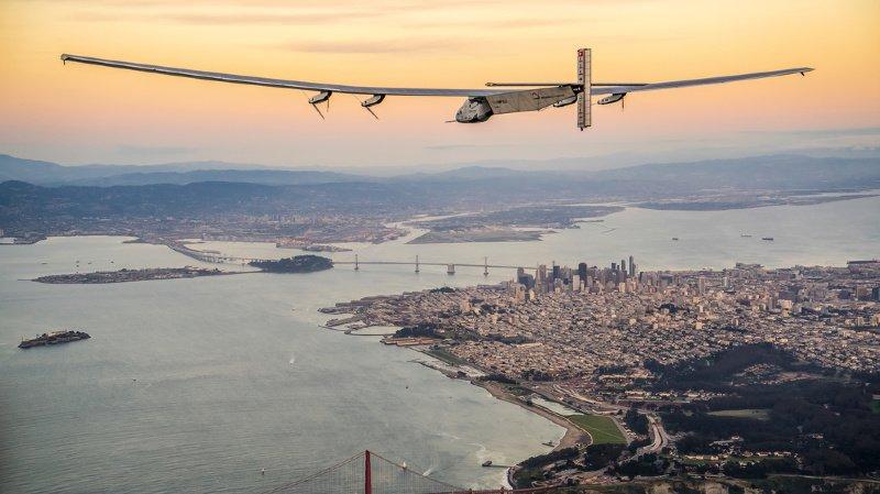 """Solar Impulse avait bouclé son tour du monde en 2016. Sa technologie pourrait être """"recyclée"""" en Espagne."""