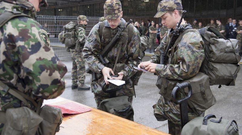 Armée: il y a un peu plus de 140'000 militaires en Suisse