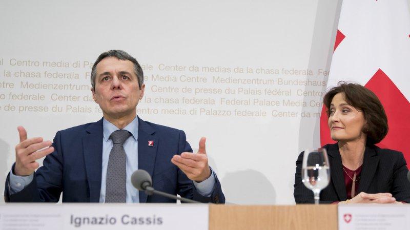 A son arrivée, Ignazio Cassis a repris le dossier européen des mains de Pascale Baeriswyl. L'entente entre les deux n'était depuis plus vraiment cordiale.