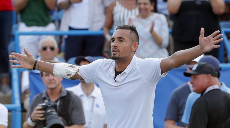 Tennis - US Open: Nick Kyrgios mis sous enquête après avoir accusé l'ATP d'être corrompue