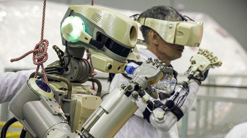 Espace: la Russie a envoyé son robot humanoïde Fiodor vers la Station spatiale internationale