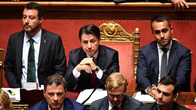 Italie: le premier ministre Giuseppe Conte annonce sa démission