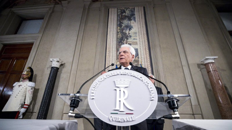 Italie: le président Mattarella donne jusqu'à mardi aux partis pour former une nouvelle coalition