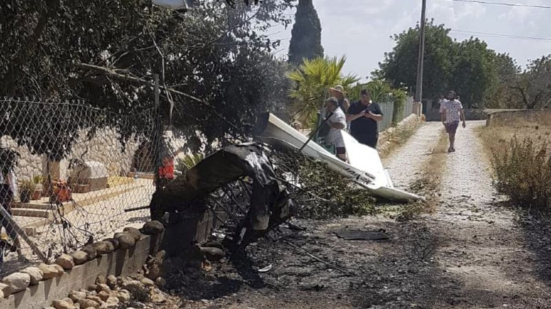 Majorque: sept morts dans la collision entre un hélicoptère et un ULM