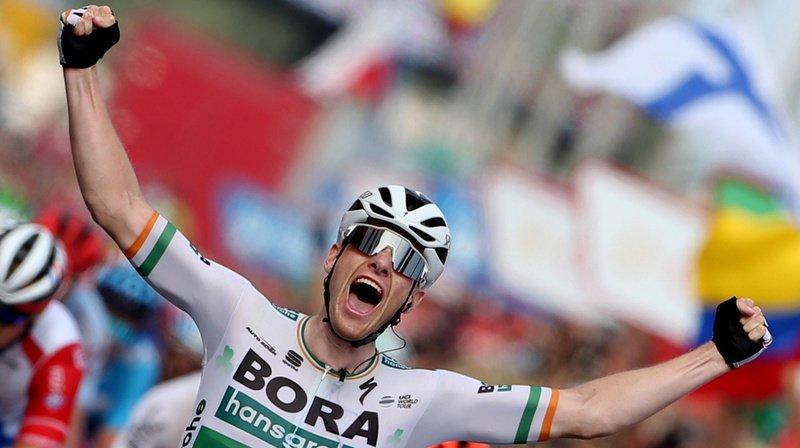 Cyclisme – Tour d'Espagne: l'Irlandais Bennett gagne la 3e étape, Roche toujours en rouge