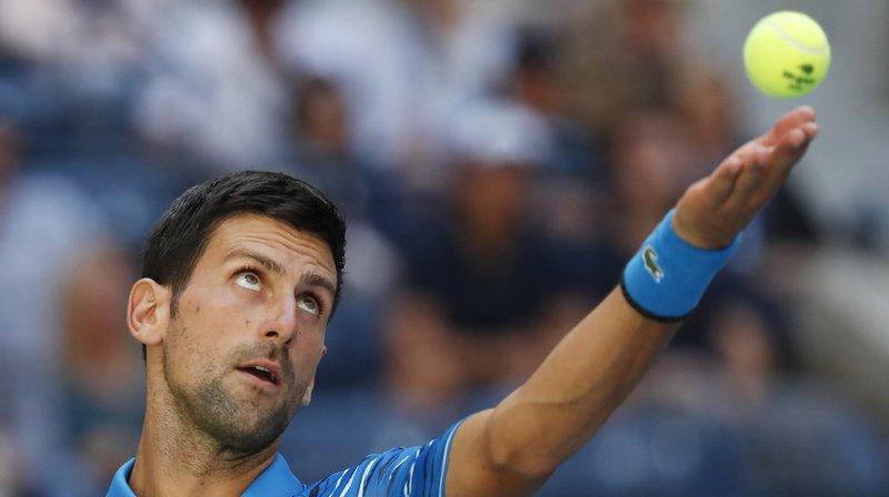 Tennis – US Open: Novak Djokovic passe facilement le premier tour