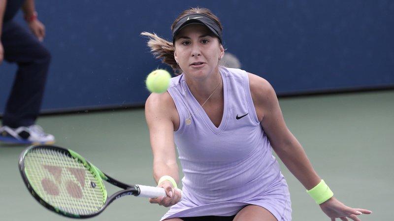 Belinda Bencic (no 13) s'est aisément qualifiée pour le deuxième tour de l'US Open.