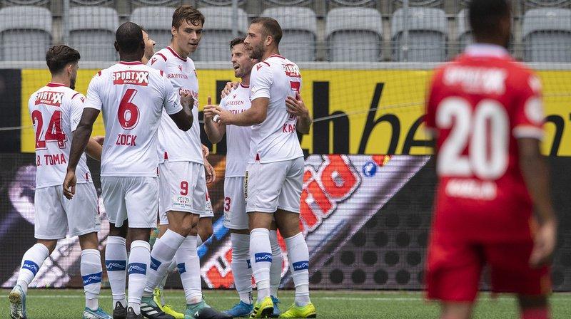Football – Super League: Sion s'impose 1-0 à Thoune, Bâle nouveau leader