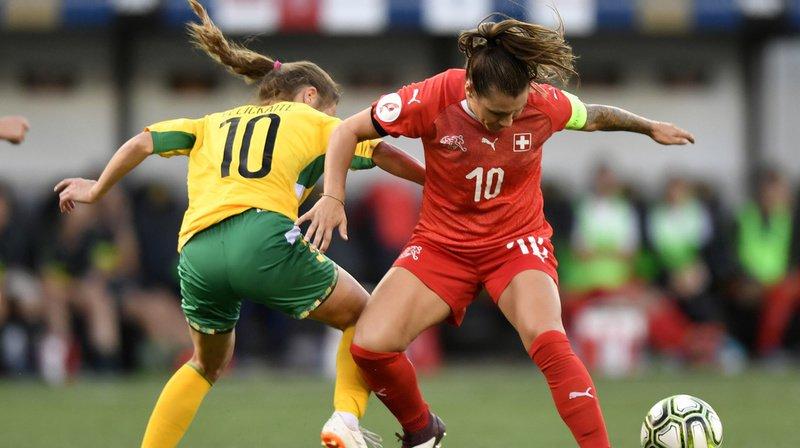 Football - Qualification pour l'Euro 2021: les Suissesses battent facilement la Lituanie