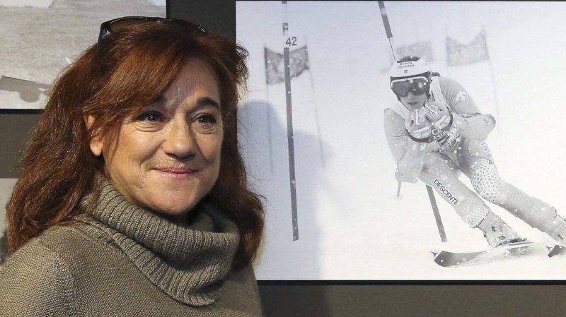 Blanca Fernandez Ochoa a été la première femme à offrir à l'Espagne une médaille olympique aux Jeux d'hiver (archives).