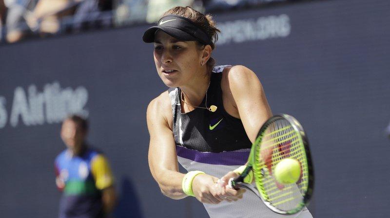 En demi-finale de l'US Open, Belinda Bencic a dominé la jeune Canadienne de 19 ans, mais a galvaudé trop de points.