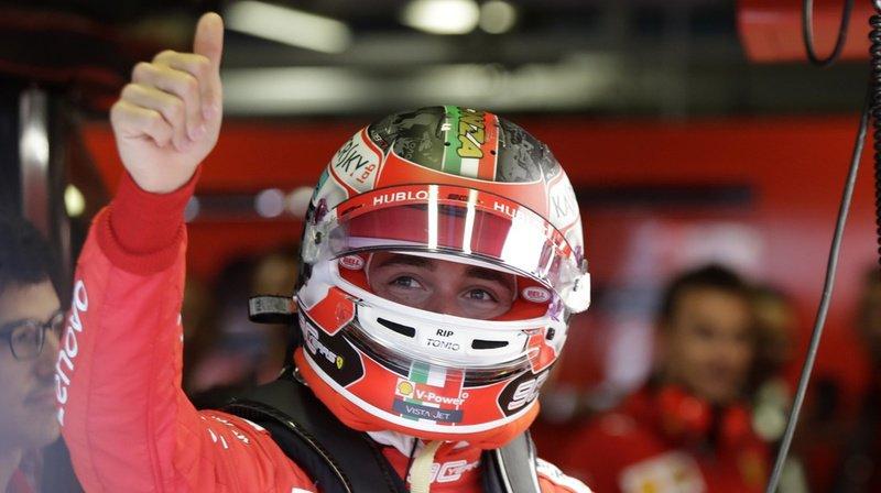 Le Monégasque partagera la première ligne sur la grille de départ avec le leader du championnat du monde, Lewis Hamilton.