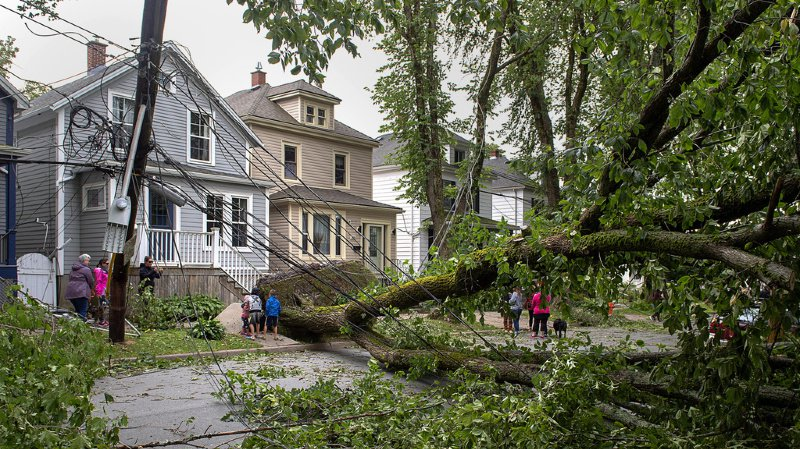 Intempéries: l'ouragan Dorian a ravagé le détroit de Belle Isle au Canada