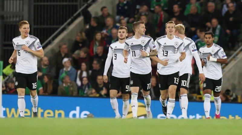 Football – Euro 2020: victoire capitale de l'Allemagne en Irlande du Nord, la Belgique humilie l'Ecosse