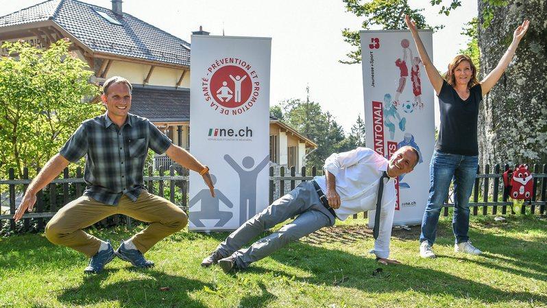 En septembre, le canton de Neuchâtel invite la population à bouger davantage