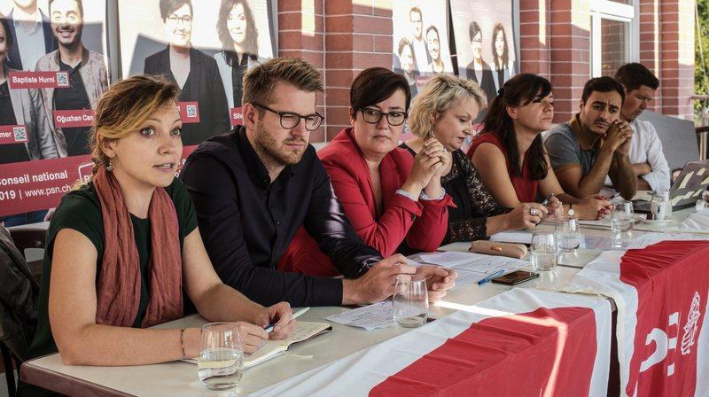 Le PS neuchâtelois voit la gauche gagner un troisième siège au Conseil national