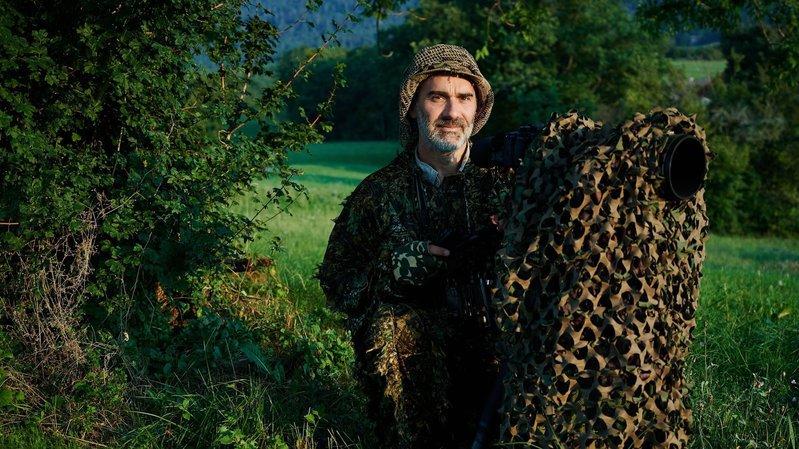 Gorgier: le photographe Laurent Geslin raconte l'odyssée du renard