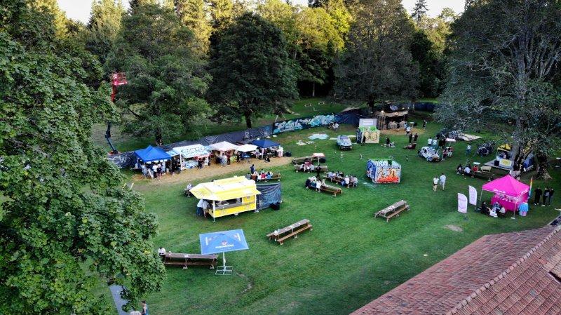 Une trentenaire d'artistes se sont produits à Festi'Valderuz.