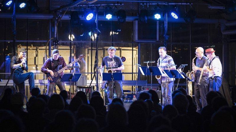 Les Jardins musicaux à Cernier: Andreas Schaerer, vocaliste et beatboxeur, accompagné par l'Arte Quartet.