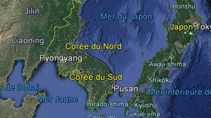Un typhon fait cinq morts en Corée du Nord