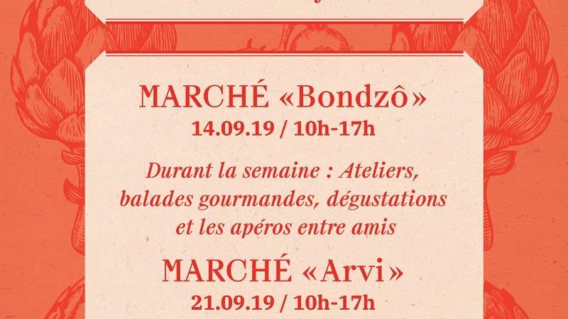 """Marché """"Arvi"""""""