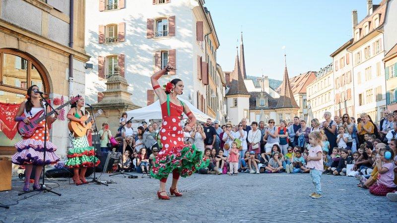 Des spectacles pour petits et grands au Buskers, ici les Mala Sangre de Séville.