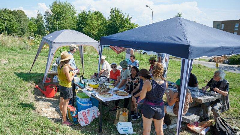 Une fête et plusieurs projets aux jardins de Pierre-à-Bot