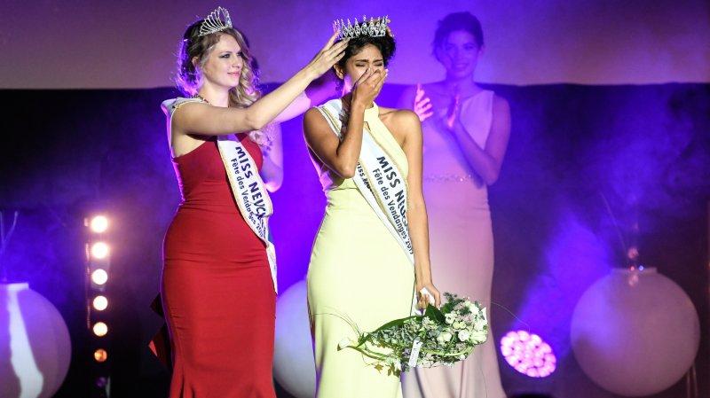 Miss Neuchâtel-Fête des vendanges 2019 s'appelle Noemi