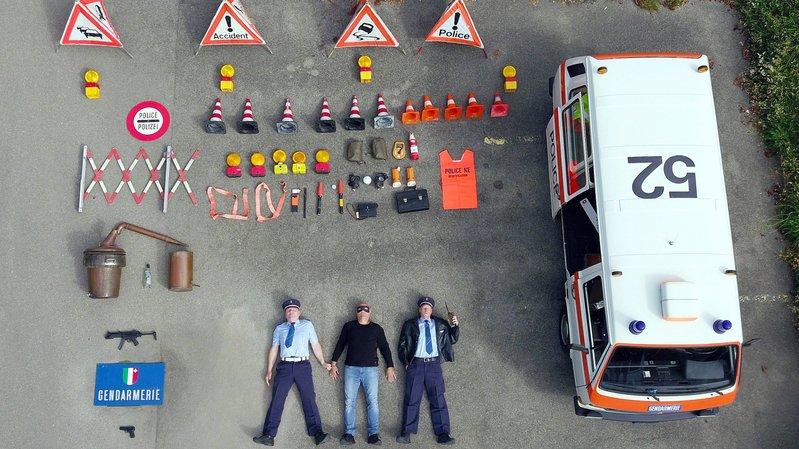 «Tetris challenge»: policiers, urgentistes et pompiers neuchâtelois vident aussi leurs véhicules