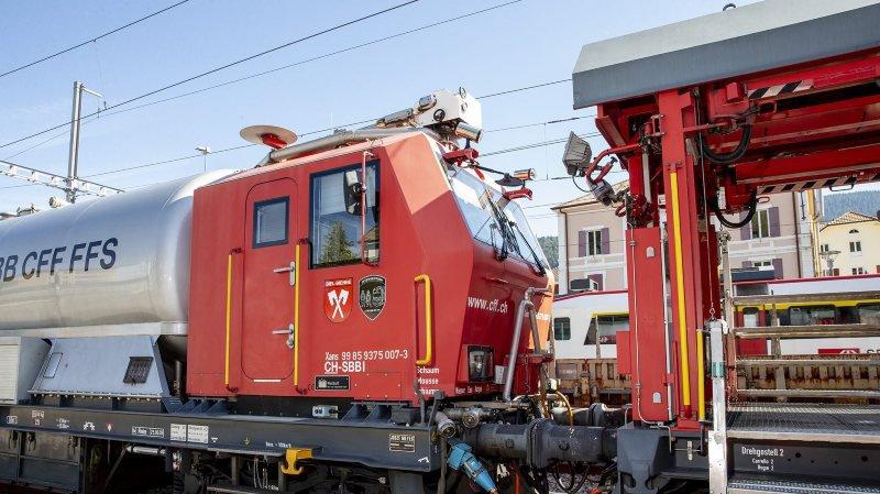 Début d'incendie en gare de Neuchâtel