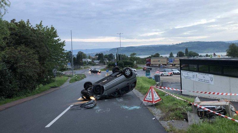 L'accident s'est produit mercredi matin vers 6h.