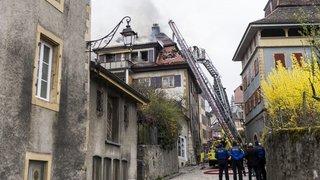 Incendie d'Auvernier: la prévenue à nouveau condamnée