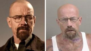 Le sosie de Walter White recherché par la police… pour possession de méthamphétamine