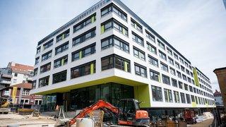 La Chaux-de-Fonds: l'ancien bâtiment de Coop City bientôt habité