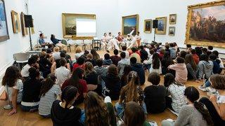 Le lien entre la capoeira, l'esclavage et Neuchâtel présenté à des adolescents