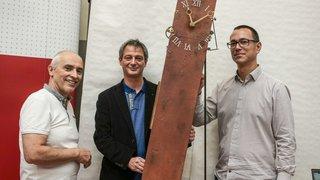 Val-de-Travers: une horloge pour sensibiliser au développement durable