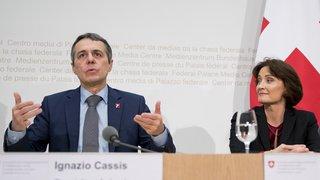 Affaires étrangères: Ignazio Cassis se sépare de son bras droit, la Bâloise Pascale Baeriswyl