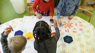 Coire: les enfants de trois ans obligés d'apprendre l'allemand, sous peine d'une amende