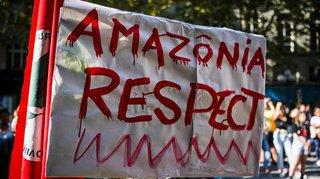 Feux en Amazonie: des manifestations en Suisse pour sauver les «poumons de la terre incendiés»