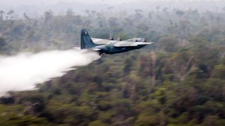 Amazonie: sous la pression internationale, le Brésil entre en action contre les incendies