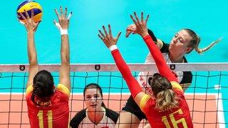 Volleyball - Championnat d'Europe: les Suissesses ont manqué l'exploit de peu à Bratislava