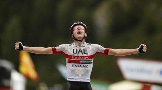 Cyclisme – Tour d'Espagne: le Slovène Tadej Pogacar remporte la 9e étape, Quintana en rouge