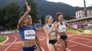 Athlétisme – Meeting de Bellinzone: Mujinga Kambundji et Lea Sprunger en or